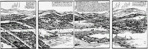 石清尾八幡宮全図