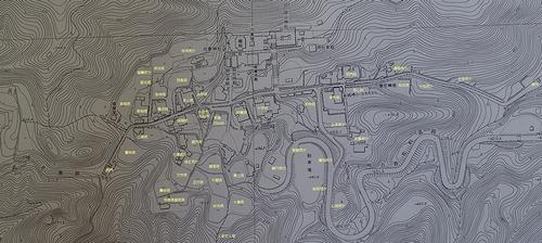 多武峰寺中復元図